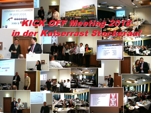Kick-Off-Meeting am 19. Jänner 2018