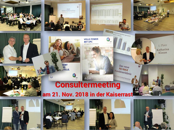 Consulter Meeting der RE/MAX DCI-Gruppe